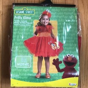 Frilly Elmo Toddler Costume